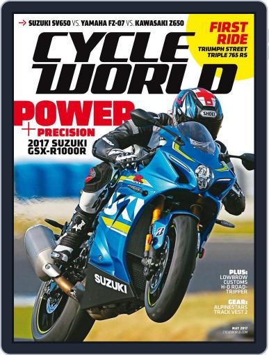 Cycle World (Digital) May 1st, 2017 Issue Cover