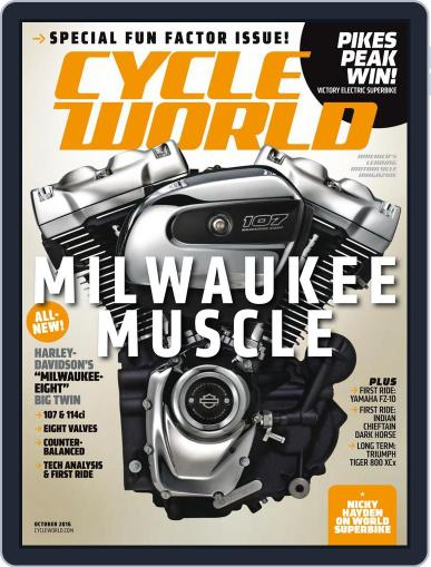 Cycle World (Digital) October 1st, 2016 Issue Cover