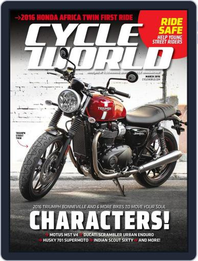 Cycle World (Digital) January 16th, 2016 Issue Cover