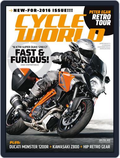 Cycle World (Digital) January 1st, 2016 Issue Cover