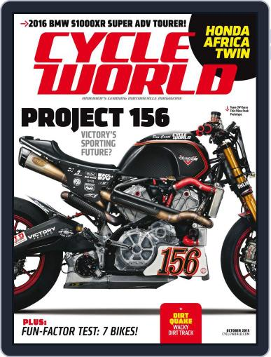 Cycle World (Digital) October 1st, 2015 Issue Cover