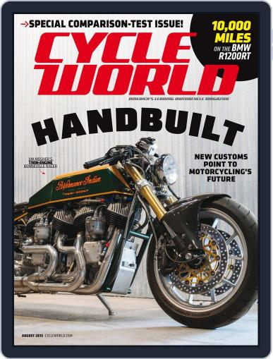 Cycle World August 1st, 2015 Digital Back Issue Cover