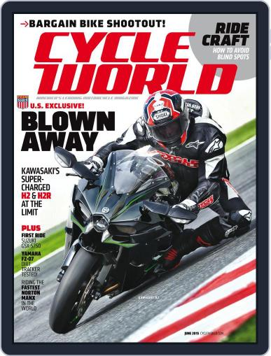 Cycle World (Digital) June 1st, 2015 Issue Cover