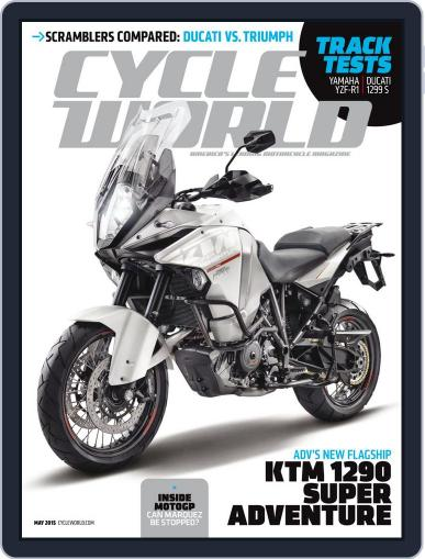 Cycle World March 28th, 2015 Digital Back Issue Cover