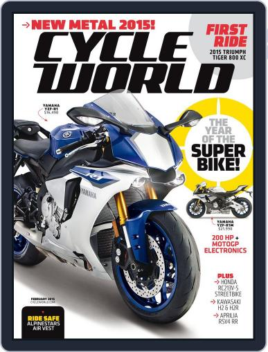 Cycle World December 20th, 2014 Digital Back Issue Cover
