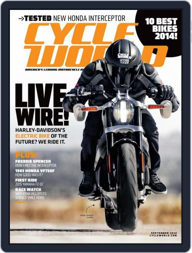 Cycle World July 26th, 2014 Digital Back Issue Cover