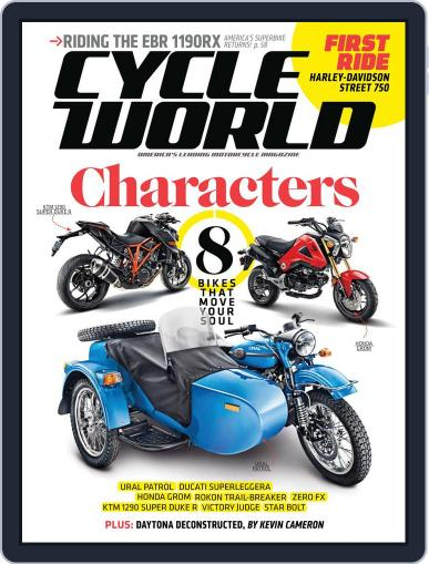 Cycle World April 19th, 2014 Digital Back Issue Cover