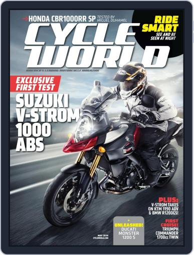 Cycle World (Digital) March 24th, 2014 Issue Cover