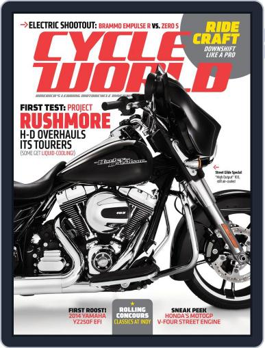 Cycle World (Digital) September 21st, 2013 Issue Cover