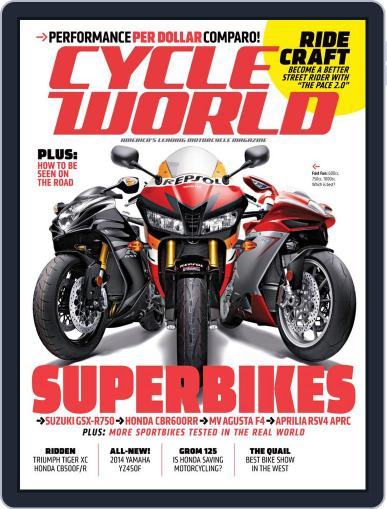 Cycle World (Digital) June 22nd, 2013 Issue Cover