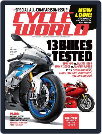 Cycle World (Digital) May 25th, 2013 Issue Cover