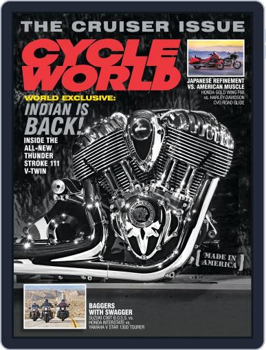 Cycle World March 23rd, 2013 Digital Back Issue Cover