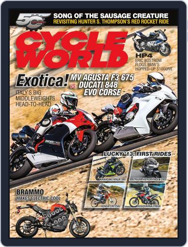 Cycle World (Digital) October 27th, 2012 Issue Cover