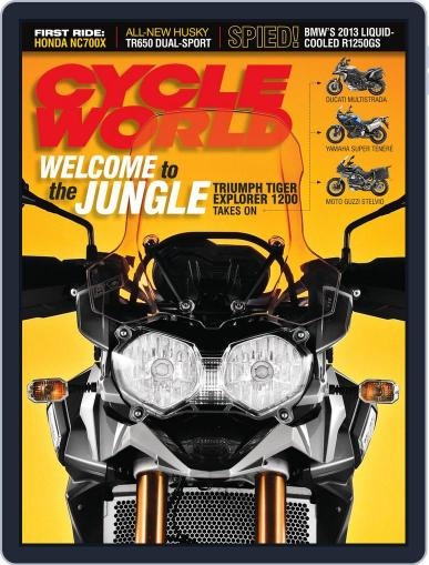 Cycle World (Digital) July 28th, 2012 Issue Cover