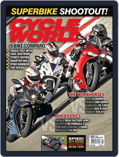 Cycle World (Digital) June 23rd, 2012 Issue Cover