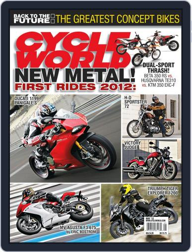 Cycle World (Digital) March 24th, 2012 Issue Cover