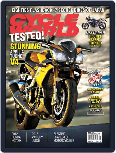 Cycle World (Digital) February 25th, 2012 Issue Cover