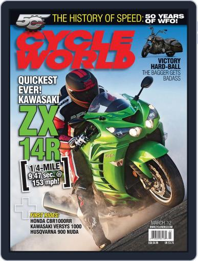 Cycle World (Digital) January 28th, 2012 Issue Cover