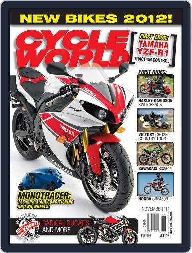 Cycle World (Digital) September 27th, 2011 Issue Cover