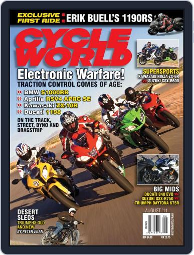 Cycle World (Digital) June 28th, 2011 Issue Cover