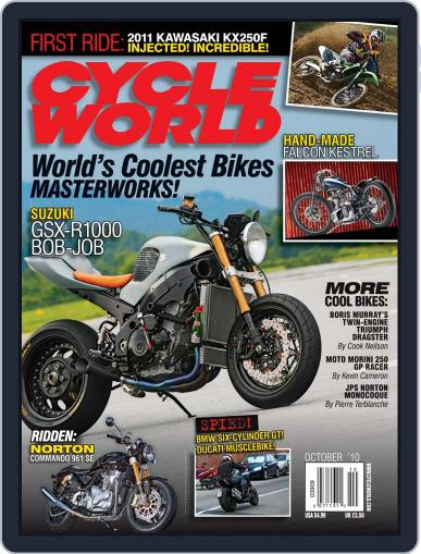 Cycle World (Digital) August 24th, 2010 Issue Cover