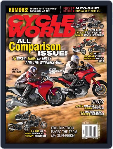 Cycle World (Digital) June 22nd, 2010 Issue Cover