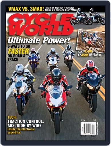 Cycle World May 18th, 2010 Digital Back Issue Cover