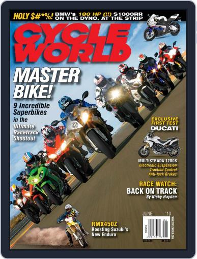 Cycle World April 20th, 2010 Digital Back Issue Cover