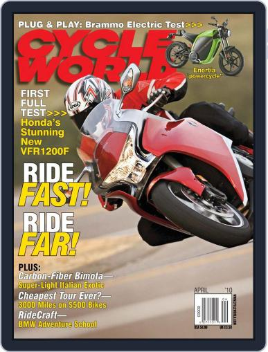 Cycle World (Digital) February 16th, 2010 Issue Cover