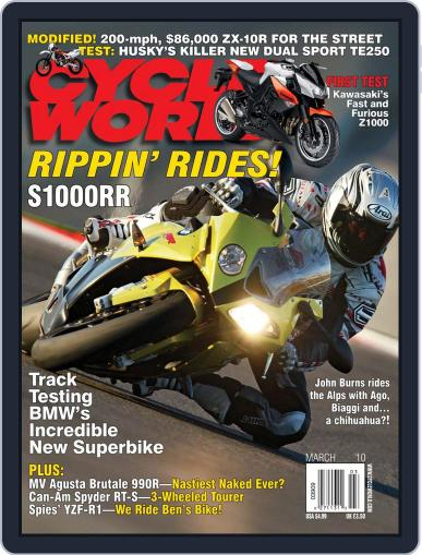 Cycle World (Digital) January 19th, 2010 Issue Cover