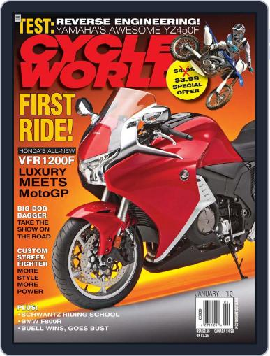 Cycle World (Digital) November 17th, 2009 Issue Cover