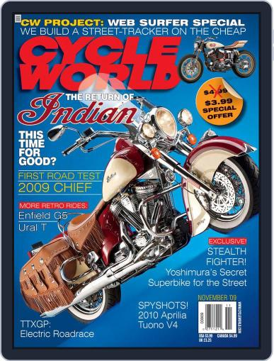 Cycle World September 23rd, 2009 Digital Back Issue Cover