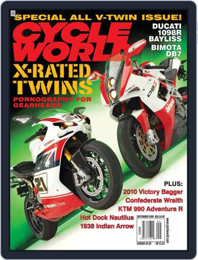 Cycle World (Digital) July 22nd, 2009 Issue Cover