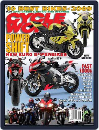 Cycle World (Digital) June 23rd, 2009 Issue Cover