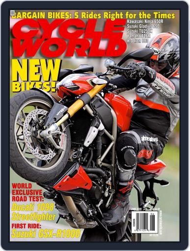 Cycle World (Digital) April 21st, 2009 Issue Cover