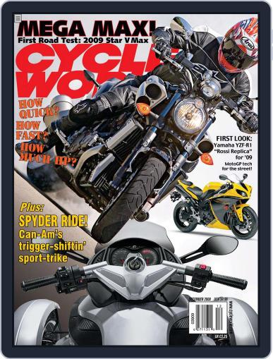 Cycle World October 23rd, 2008 Digital Back Issue Cover