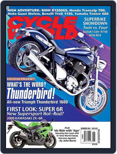 Cycle World (Digital) September 25th, 2008 Issue Cover