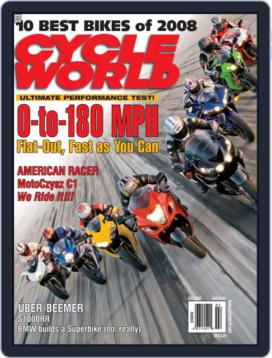 Cycle World (Digital) May 20th, 2008 Issue Cover