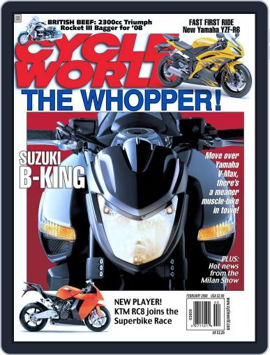 Cycle World December 18th, 2007 Digital Back Issue Cover