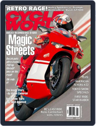 Cycle World (Digital) November 20th, 2007 Issue Cover