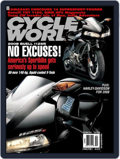 Cycle World August 21st, 2007 Digital Back Issue Cover