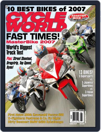 Cycle World (Digital) June 19th, 2007 Issue Cover