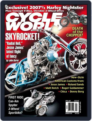 Cycle World (Digital) February 21st, 2007 Issue Cover