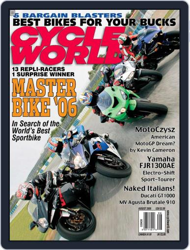 Cycle World (Digital) June 20th, 2006 Issue Cover