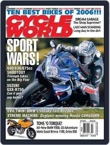 Cycle World May 24th, 2006 Digital Back Issue Cover