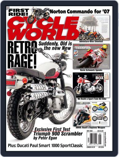 Cycle World March 21st, 2006 Digital Back Issue Cover