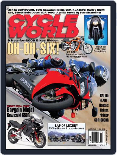 Cycle World (Digital) January 24th, 2006 Issue Cover