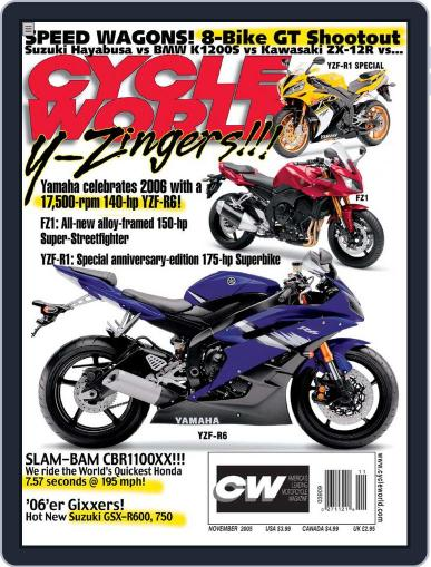 Cycle World (Digital) September 21st, 2005 Issue Cover
