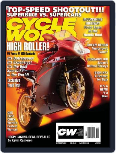 Cycle World August 23rd, 2005 Digital Back Issue Cover
