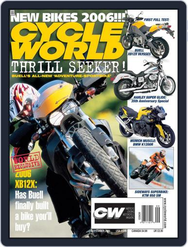 Cycle World July 25th, 2005 Digital Back Issue Cover